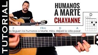 Como tocar Humanos a Marte de Chayanne en guitarra! muy fácil y divertida en guitarra