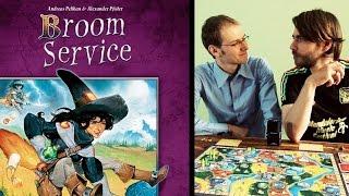 Broom Service (Kennerspiel des Jahres 2015) - Beispielrunde