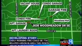 Arsonists strike at scene of 1st blaze
