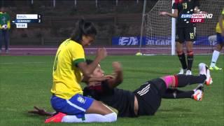 Algarve Cup 2015 Brazil-Germany 2015 03 09