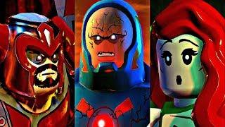 LEGO DC SUPER VILLAINS - All Bosses / Boss Fights + Ending