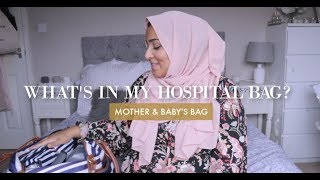 What I Packed for my 3rd Hospital Bag
