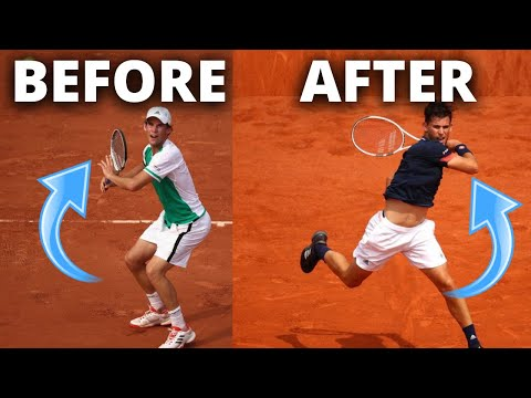Dominic Thiem Tennis Forehand Evolution 2014-2020 – Thiem Forehand Analysis