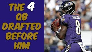 Who Were The 4 Quarterbacks Drafted Before Lamar Jackson? Where Are They Now?