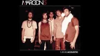 The Sun  1 22 03 Acoustic  Maroon 5