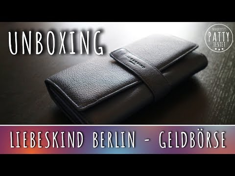 #Unboxing / Produkttest - #Liebeskind Berlin - Portemonnaie