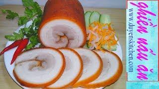 Download Video Cách Làm Jambon Thịt Nguội Không Cần Cột Dây Và Để Lâu Không Thiu MP3 3GP MP4