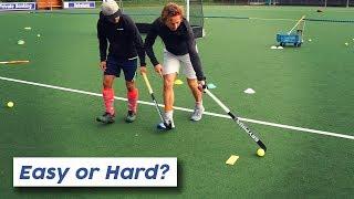 One handed field hockey tutorial! | Hockey Heroes TV