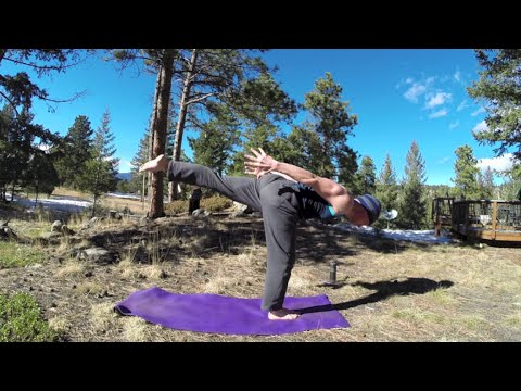 30 Minute Killer Power Yoga for Strength w/ Sean Vigue - HASfit Power Yoga Workout Exercises