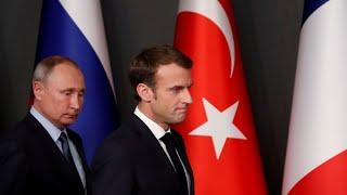 Live   French President Emmanuel Macron Hosts Russia's Vladimir Putin For A Visit