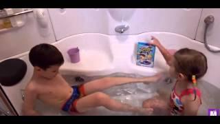 Цифра ЧЕЛЛЕНДЖ в Джели Баф меняющий цвет игрушки в желейной ванной Gelli Baff CHALLENGE with toys