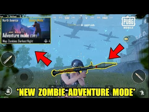*NEW* Zombie Adventure Mode in PUBG Mobile? Update 0.12 Gameplay (Android) HD