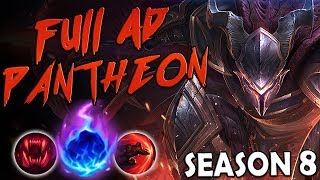 THE DREAM IS HERE | FULL AD PANTHEON NEW RUNES MONTAGE SEASON 8 BUILD