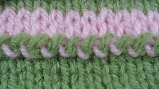 knitting tips No 2 - how to join two pieces knitted