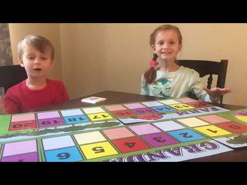 Grandma's Counting Farm presented by Violet and Charlie! - Part 1