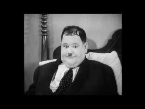 Als der Doktor noch Hausbesuche machte - Ausschnitt aus dem Laurel & Hardy-Film