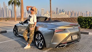 The $100,000 Convertible Lexus | LC500