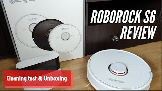 Roborock S6 Review: Unboxing, Setup, Tests / The Best Robot Vacuum Cleaner For Carpet