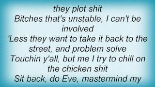 Eve - Let Me Be Lyrics