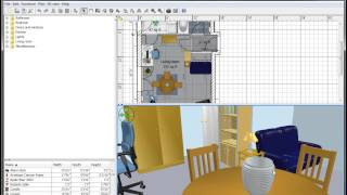 Sweet Home 3D - A Quick Look At How The Program Works (Free Software)