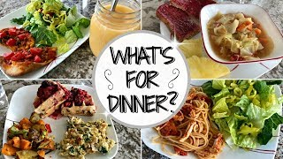 WHAT'S FOR DINNER THIS WEEK :: MEAL PLANNING INSPIRATION :: DINNER IDEAS & RECIPES
