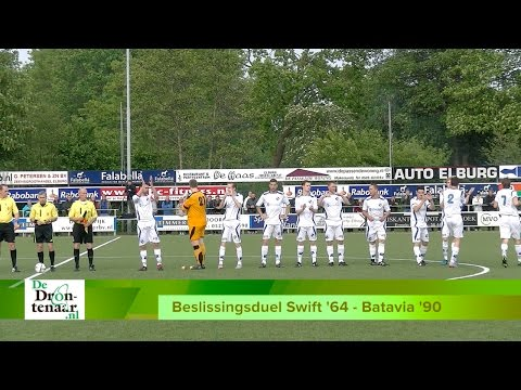 VIDEO - Beelden en reacties beslissingswedstrijd Swift'64 - Batavia'90