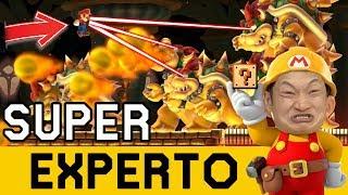 Algo tienen contra mi los JAPOS PILLOS 😡 - SUPER EXPERTO NO SKIP | Super Mario Maker - ZetaSSJ