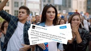 Celebs REACT To Kendall Jenner's Controversial Pepsi Commercial