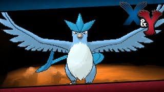 Articuno  - (Pokémon) - Pokémon X and Y - Episode 64   Articuno (or Zapdos/Moltres)!
