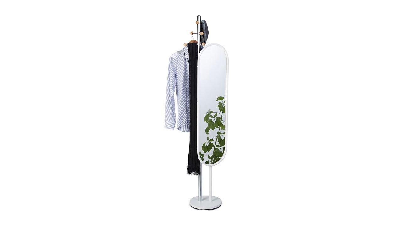 Video von: Garderobenständer mit Spiegel