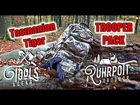 "Tools & Gear – Tasmanian Tiger ""Trooper Pack"" – Rucksack Review"
