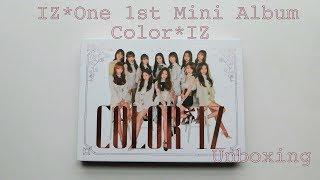 """[Unboxing] IZ*One 1st Mini Album """"Color*IZ"""" (Rose Ver.) ♥♥♥"""
