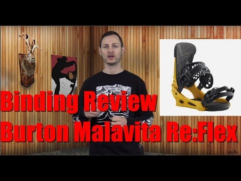 The 2019 Burton Malavita Re:Flex Snowboard Binding Review