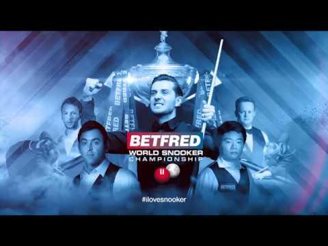 2018 Betfred World Championship Draw