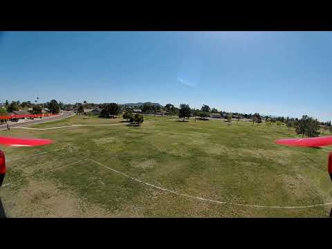 Traxxas Aton Brusless GPS Racer - FPV Angle Mode Flight Test/Caddx Turtle V2 Mod