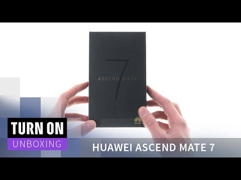 Huawei Ascend Mate 7 - Unboxing - 4K