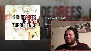 Dream Theater - The Great Debate REACTION!!