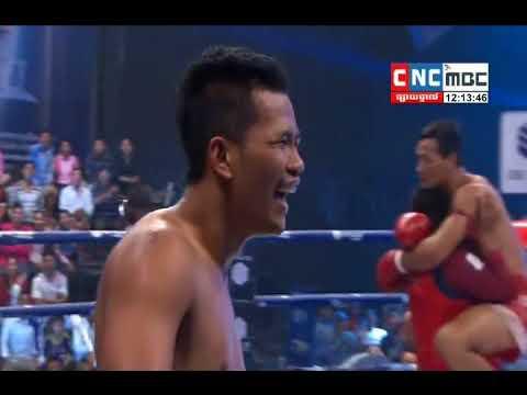 Puch Chhairithy Vs Nong Ou, Thai, CNC Boxing 21 january 2018, Khmer tv Boxing