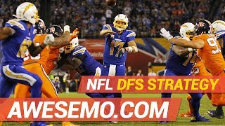 Top DFS Player & Evan Silva Give NFL Week 11 DraftKings and FanDuel Picks And Fades