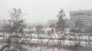 Снег в Казани