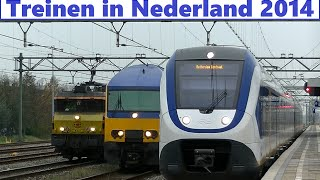 Treinen in Nederland 2014 - Trains in the Netherlands 2014