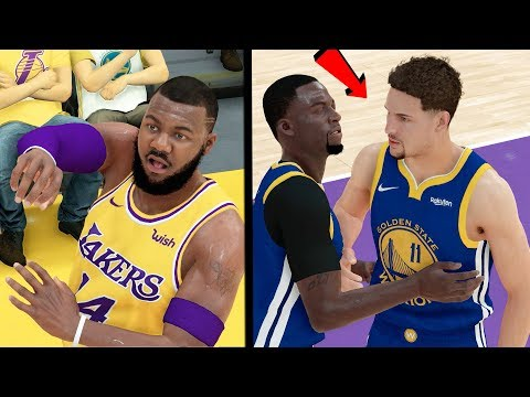 ELIMINATION GAME! KLAY WANTS TO FIGHT ME AFTER THE FOUL!! NBA 2k19 MyCAREER Ep. 67