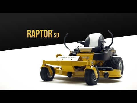 2019 Hustler Turf Equipment Raptor SD 60 in. Kawasaki 24 hp in Black River Falls, Wisconsin - Video 1