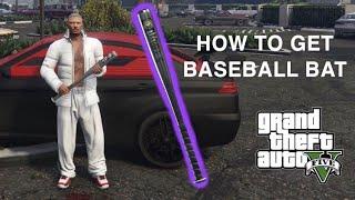 How to unlock the BASEBALL BAT in GTA 5 online!