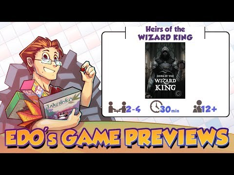 Edo's Heirs of the Wizard King Game Review (KS Preview)