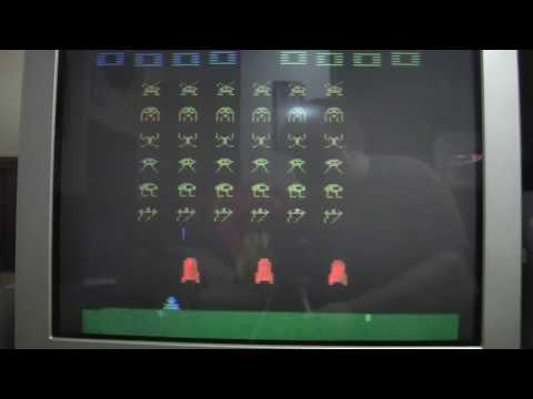 Atari 2600 Space Invaders Double Fire Trick