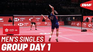 Group B | MS | CHOU Tien Chen (TPE) vs. Anthony Sinisuka GINTING (INA) | BWF 2019