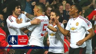 West Ham 12 Manchester United Replay Emirates FA Cup 2015/16 R6  Goals & Highlights