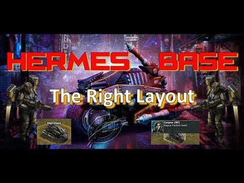 War Commander : Hermes Units & Tech Base Corpus 80 (Right Layout)