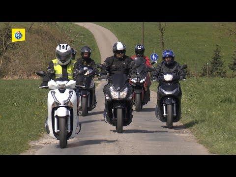 Rollertest 125 ccm